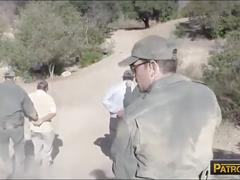 Amateur slut sophia torres fucked by border patrol agent