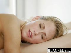 hardcore, blacked.com, threesome, bbc, big black cock, brunette, blonde, cowgirl, creampie, cumshot, doggystyle, ffm, natural boobs, pussy licking, dick riding, small tits