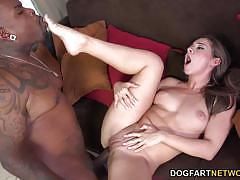 Cassidy klein enjoys a big black dick