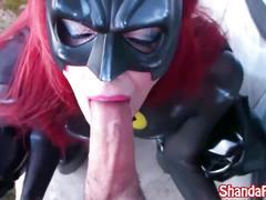 Shanda fay is bat girl the cock sucker!