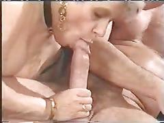 Two grannies want sex 2 -big white cock - anal - fist