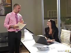 Sexy secretary alektra blue fucking her big dicked boss