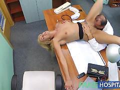 Bending her over the docs desk
