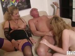 German couple fucking for a mature bitch