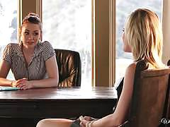 Catie parker seduced by dirty boss justine joli