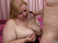 Hot chubby bitch picked up by stranger