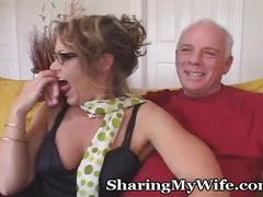 milf, blowjob, brunette, homemade, mature, wife, oral, orgasm, older, swinger, hotwife, interview, cougar, sharing, dirtytalk