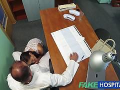 Russian chick gives doctor a sexual favour