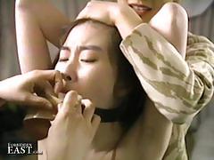 Kinky oriental lesbian fun