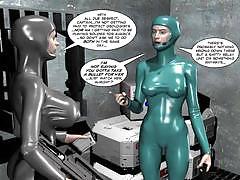 3d comics spermaliens