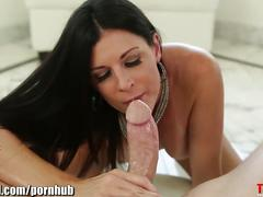 Throated young mature milf india summer's extreme gagging!