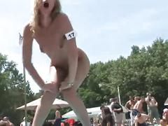 amateur, public, striptease, uniforms, pornhub.com, contest, pole-dancing, teasing, nudist, cowgirl, blonde, busty, big-butt, stilettos, red-head, shaved, reality, outdoors, outside