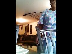 Dudes mom caught him fucking a girl on her couch revised vers.