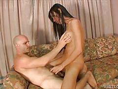 Asian beauty fucks his tight asshole @ asian transsexuals