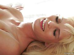 Candee licious rides reverse cowgirl