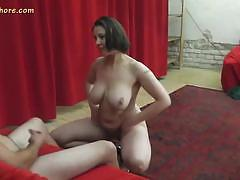 brunette, milf, busty, czech, handjob, tease, natural, dance, big boobs, amateur, interview, striptease