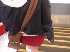 Blonde amateur teen babe lissa flashes shaved pussy and masturbates in public