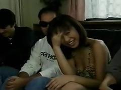 Jun kusanagi sucks off her fans (contest winners)