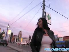 amateur, big tits, public, reality, exclusive, publicagent, outdoors, outside, cumshot, pov, sex-for-cash, big-boobs, point-of-view, brunette, cock-sucking, big-cock, doggy-style, natural-tits