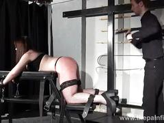amateur, chubby, spanking, the, and, whipping, tears, caning, dungeon, punished, rigid, post, strapped, mercilessly, slaveslut, lisas