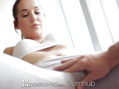 Passion-hd - a morning workout makes kasey warner horny for a fat cock