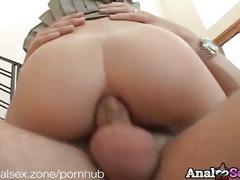 Slim blonde faye runaway anal fucking