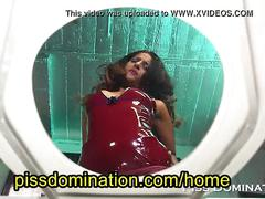 Bossy delilah femdom human toilet pov