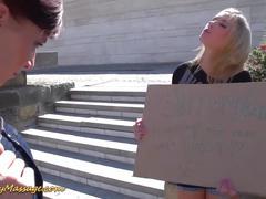 Sapphic lesbian nuru massage