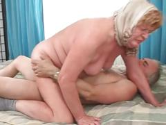 Daintily hot and sexy granny with my brother