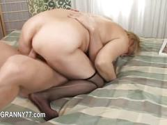 Seductive porn with old granny  feature