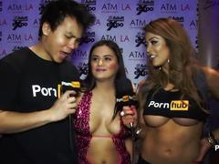 Pornhubtv selma sins interview at 2015 avn awards