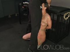 blowjob, blowjob.com, brunette, huge boobs, bondage, hitachi, facial, busty, bdsm, kinky, deephtroat, face fuck, gag, blow job, cock sucking, fellatio, oral sex, hd