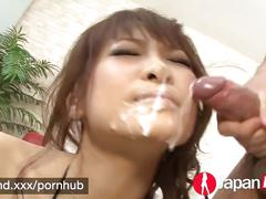 Japan hd japanese squirting fountain gets a big facial