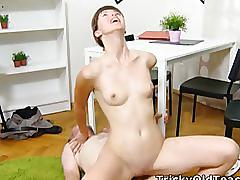 hardcore, trickyoldteacher.com, young cunt, 69, cumshot, pussy licking, natural tits, old cock, doggystyle, dick riding, orgasm, reverse cowgril