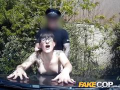 Fake cop - policemans uniform makes their pussy wet