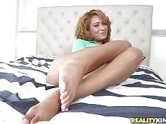 small tits, hairy, interracial, redhead, latina, pov blowjob, pick up, pussy rubbing, tits flash, 8th street latinas, reality kings, lilly evans, seth gamble