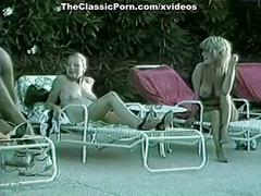 Gina carrera, stacey wells, gary west in vintage xxx video