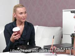 Female agent castings her lesbian boss