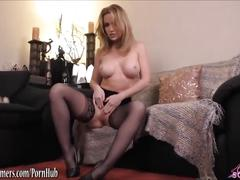 Angela sommers dirty talk masturbation and pov cock ride