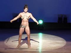 Japanese fbb posing in sexy bikini