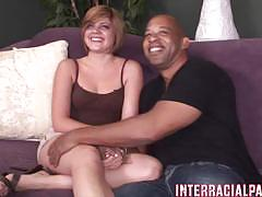 Seductive haileey james takes on this huge dick