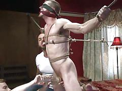 Gay slave gets used by dominant guy