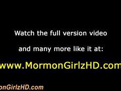 Mormon teen rubs pussy hd