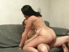 Older hairy woman fucked huge dick