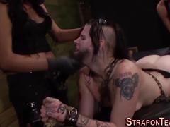 Nasty bdsm slave fucked