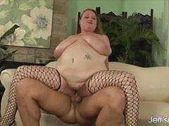 Cock hungry bbw slammed hard
