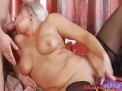She loves to suck and lick on the soaking wet pussy