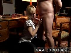 Blonde has a fat dick to suck on real well