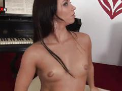fisting, anal, euro, ass-fuck, ass-fucking, european, anal-fisting, anal-toy, gaping, raven, brunette, small-tits, shaved, fingering