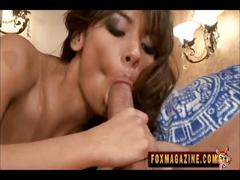 Estrella flores pounds a cock deep in her wet pussy